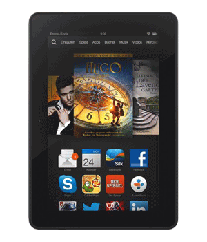 Amazon Kindle Fire HDX 7 Tablet Versicherung