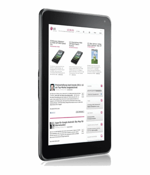 LG Optimus Pad Tablet Versicherung