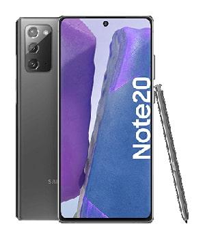 Handyversicherung für Samsung Galaxy Note 20