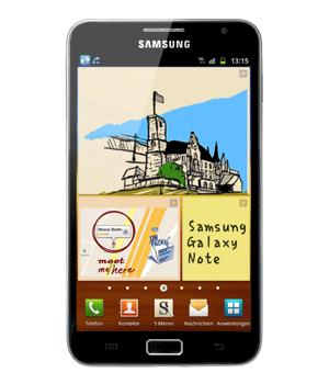 Samsung Galaxy Note N7000 Handyversicherung