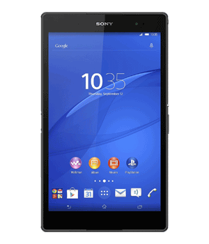 Sony Xperia Z3 Tablet Compact Versicherung
